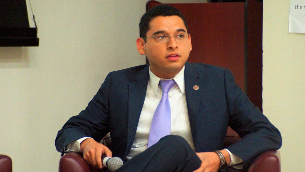 Joshua Llamas, outgoing SGA President