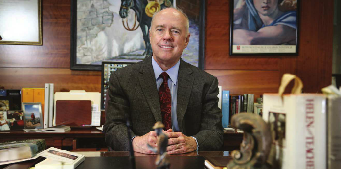 President Keck Leaves TAMIU