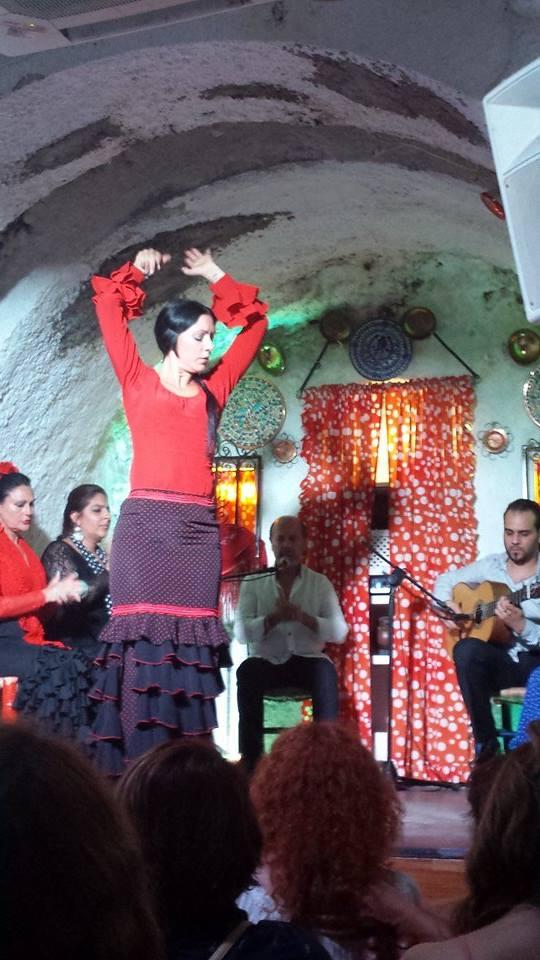 Flamenco dancer in Granada, Spain. Photo courtesy of Cristina Maldonado