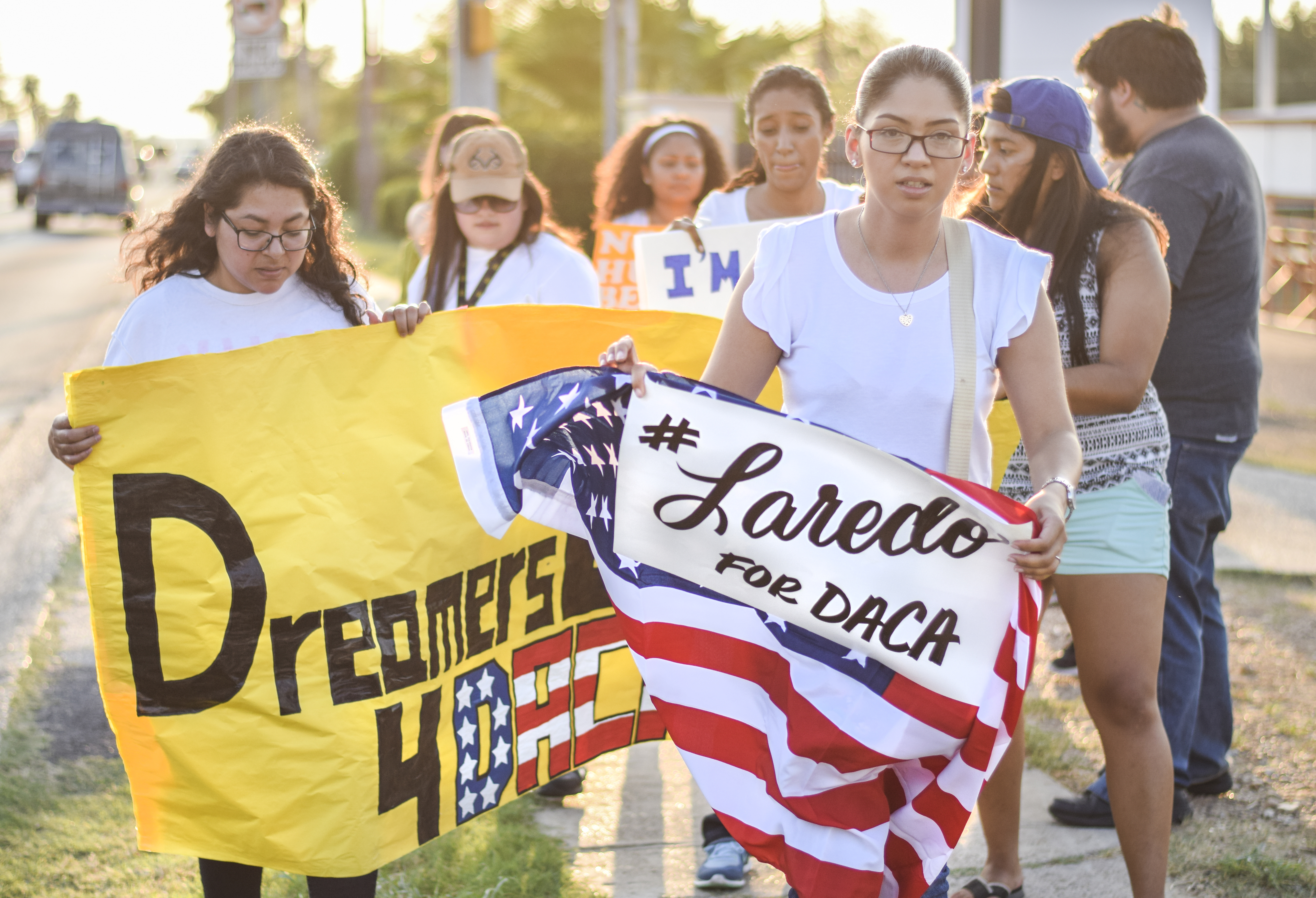 DACA supporters take to the streets