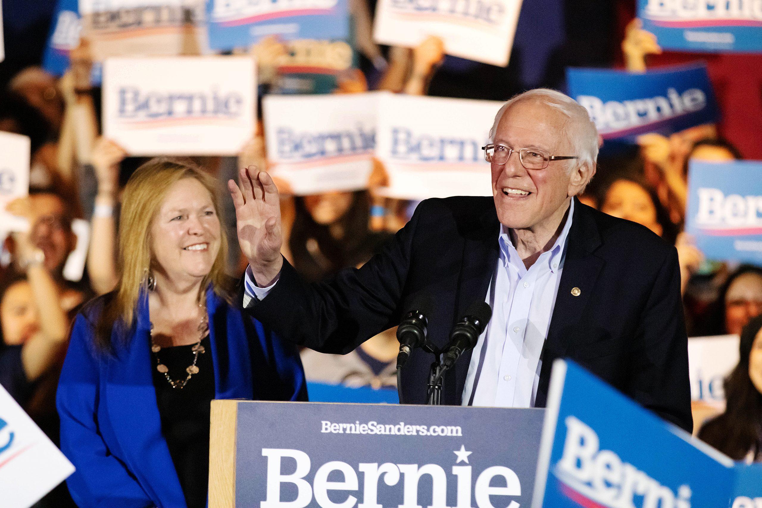 Sen. Sanders stops in San Antonio