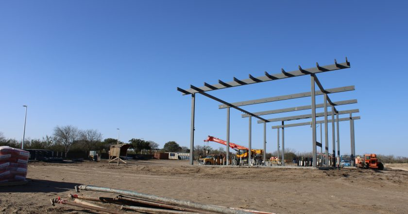 Putting the backswing into tennis court construction