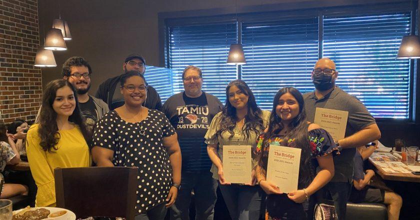 Bridge staff receives honors
