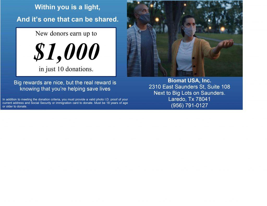 Biomat USA Inc. advertisement