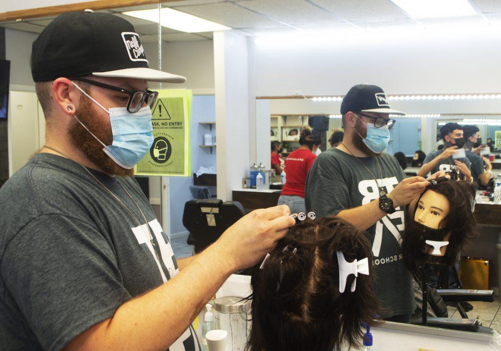 Francisco Garcia student barber