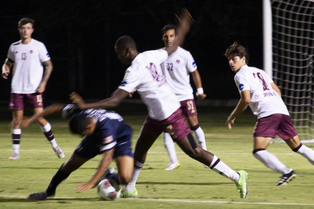 TAMIU junior Lassana Diacide, soccer player