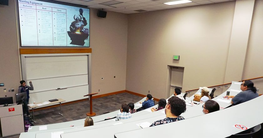 Dungeons & Dragons delves into campus