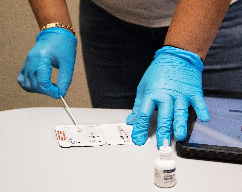 Rapid novel coronavirus testing